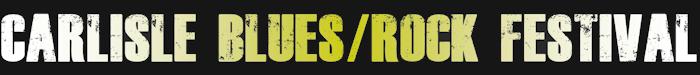 Image for banner for Carlisle Blues Festival