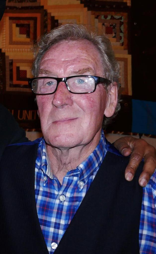 photo of Bob Bonsey taken in April 2017 photo by Blake Powell