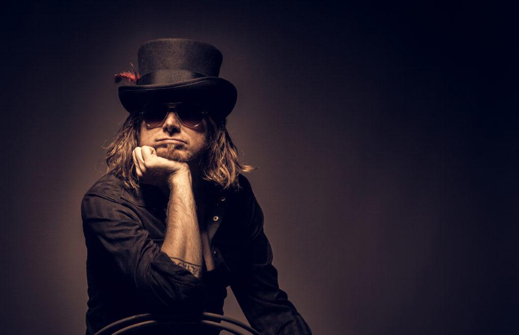 image of Australian blues artist Claude Hay by J&A Fotografie