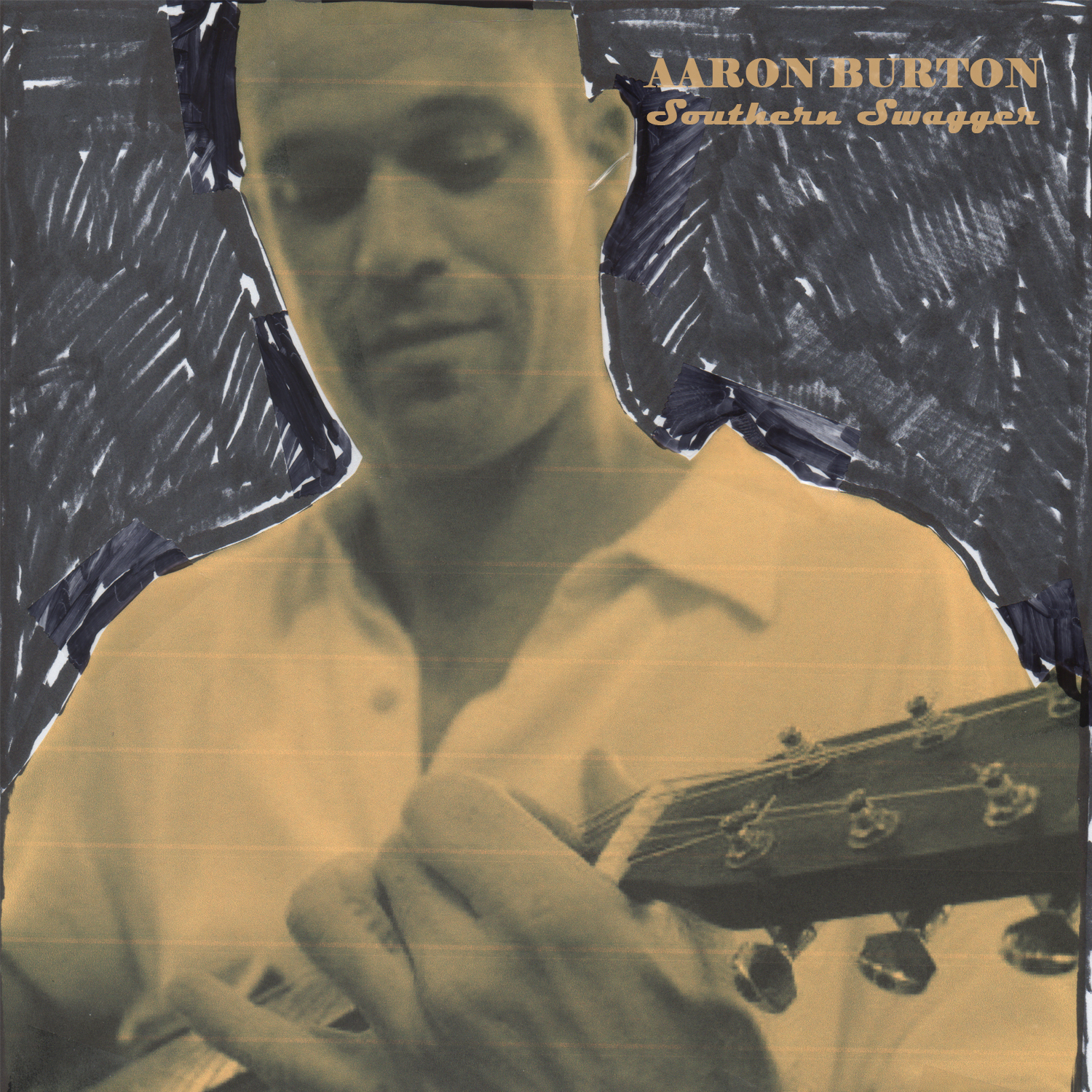 Aaron Burton new album Southern Swagger album cover