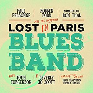 image of album cover for Lost In Paris Blues Band's album called Lost In Paris Blues Band