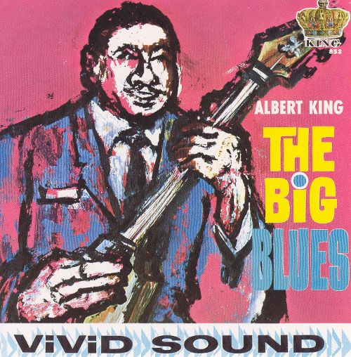 Album cover of Albert King's The Big Blues