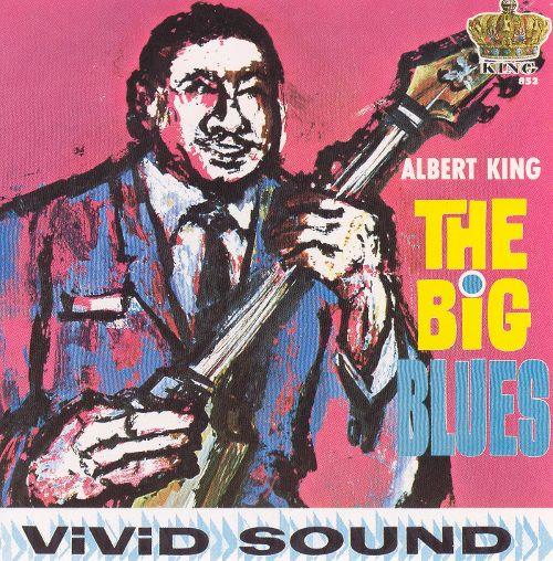 Album cover of Albert King's The Big Blues