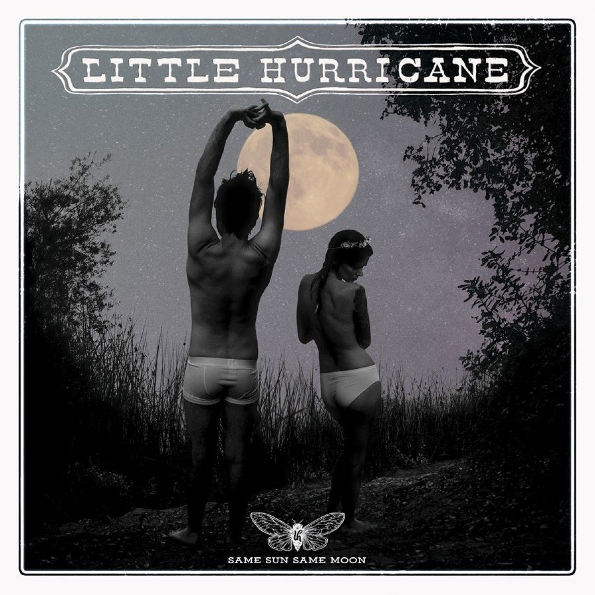 image of album cover for Little Hurricane Same Sun Same Moon