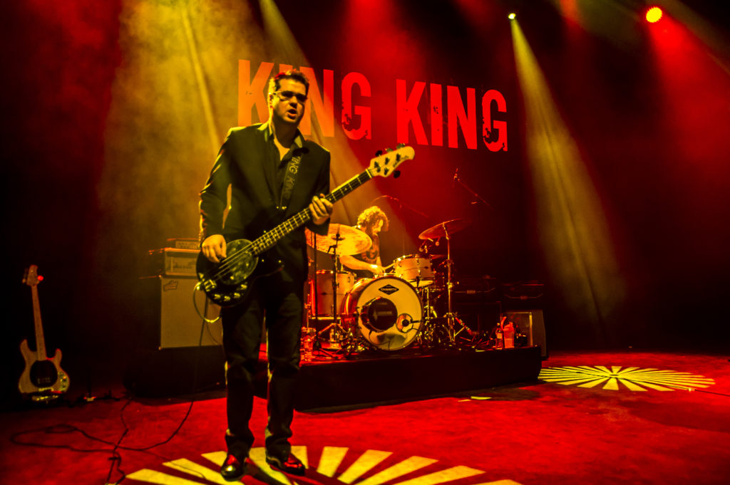 Lindsay Coulson form King King @ Shepherds Bush Empire by Edyta Krzesak Jan 2018