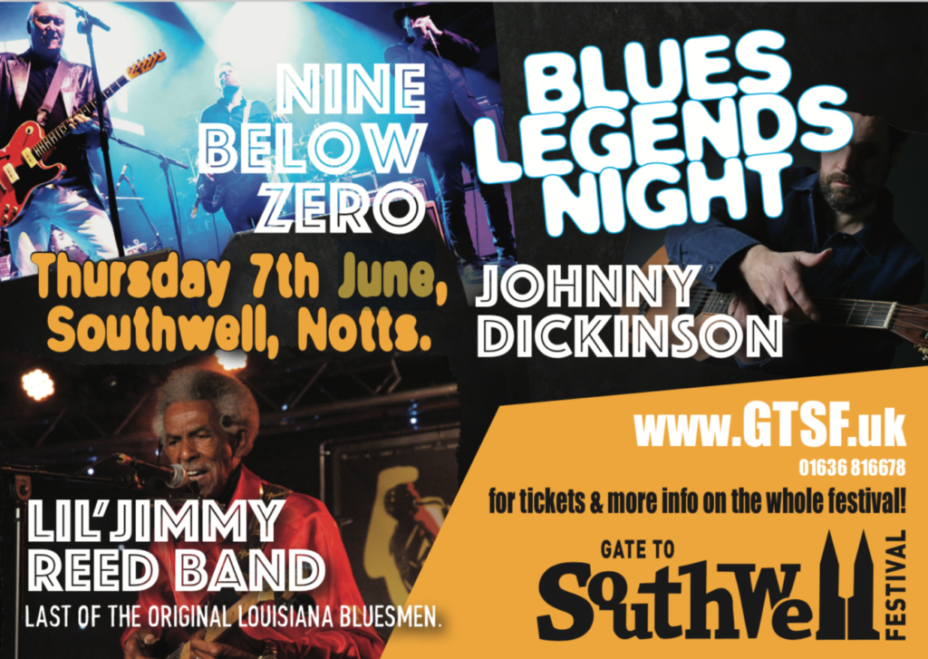 image of poster for Southwell Festival Gets The Blues