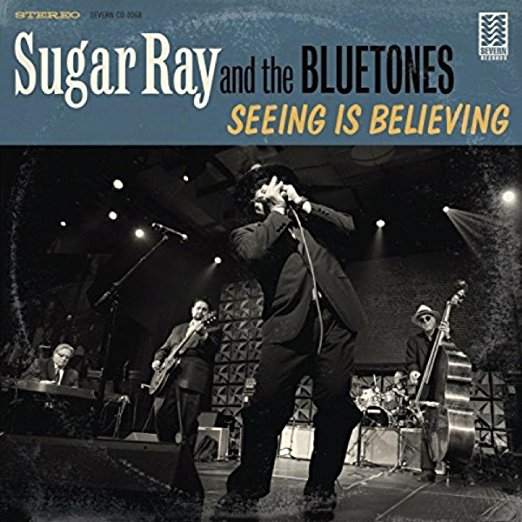 Album cover for Sugar Ray and the Bluetones - Seeing Is Believing