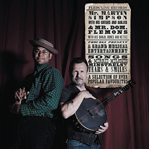 image of album cover for Martin Simpson & Dom Flemons Ever Popular Favourites