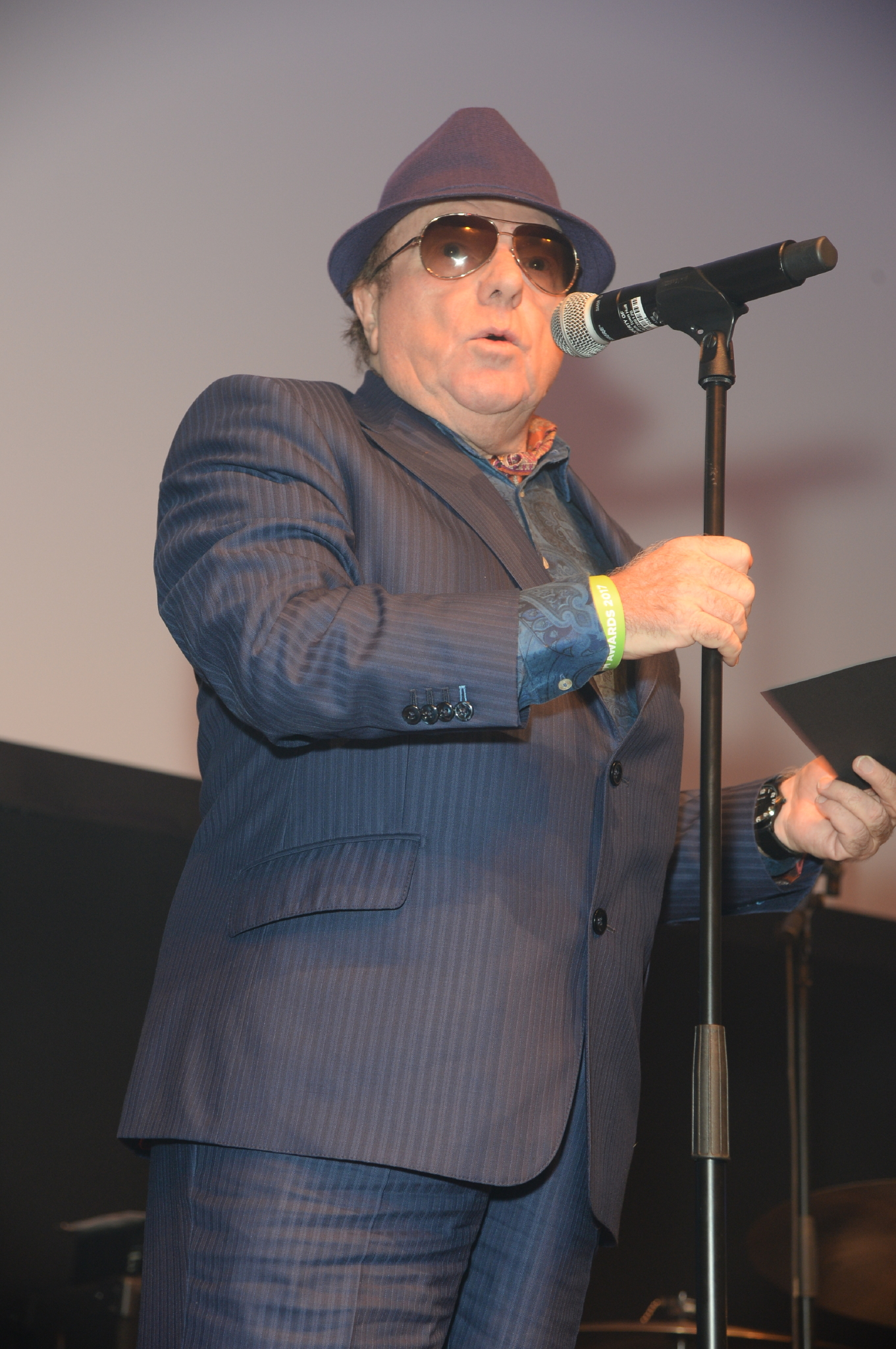 photo of Van Morrison by Hannah Young