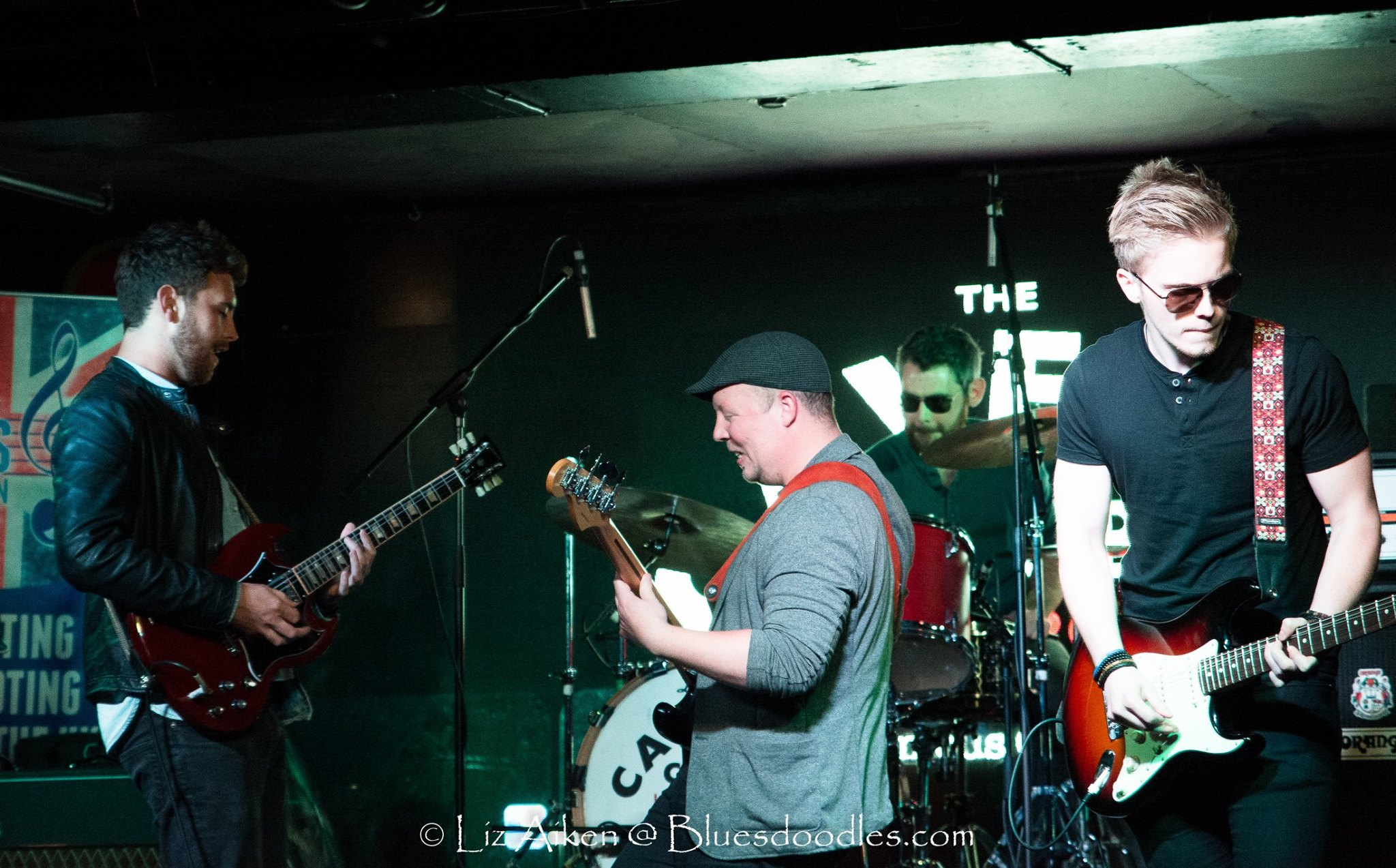 photo by Liz Aitken of Rainbreakers at UK Blues Challenge