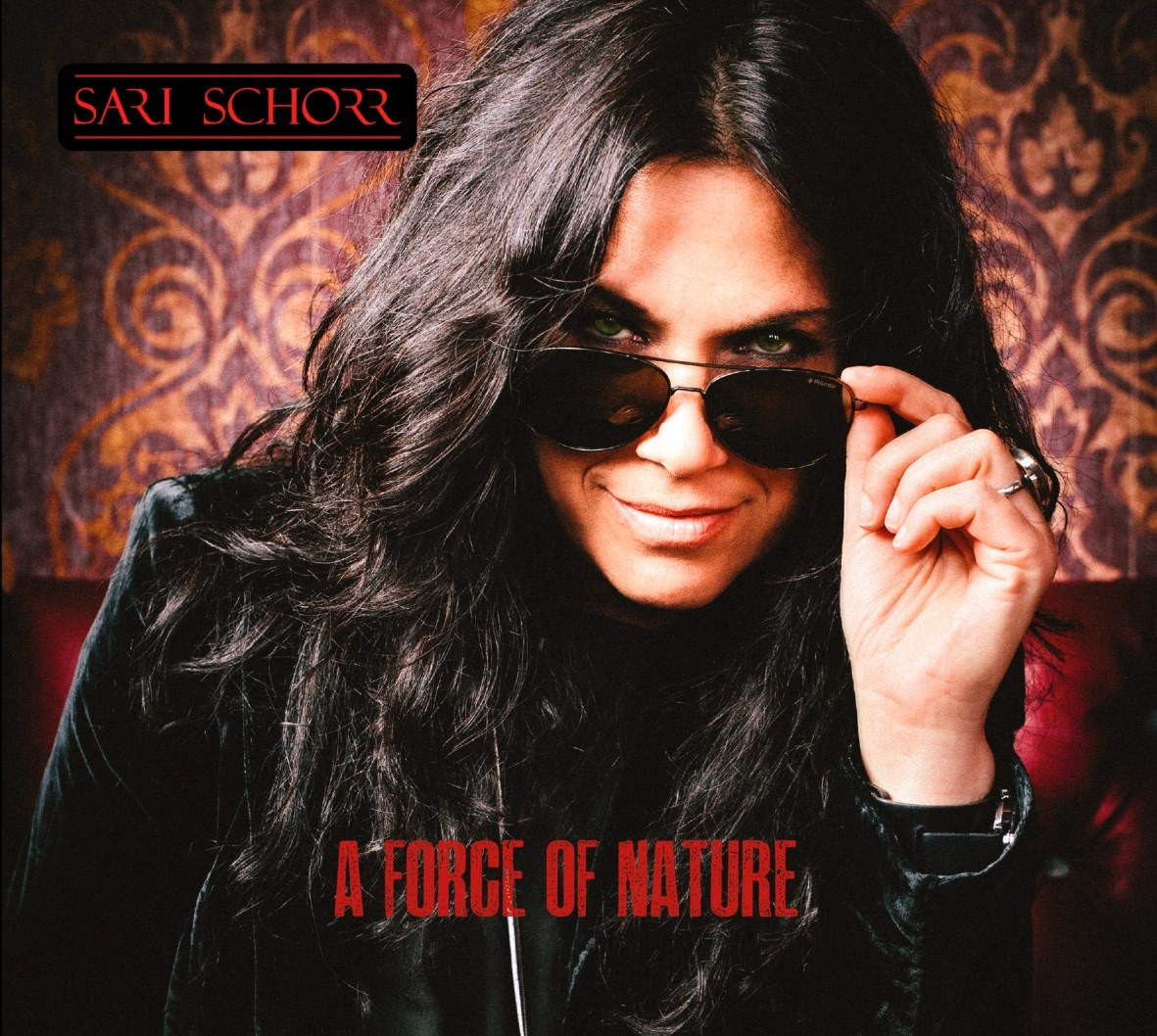 Album cover for Sari Schorr - A Force Of Nature