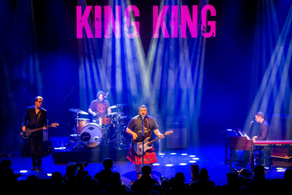 image of King King by Laurence Harvey at Shepherds Bush Empire, London 2018