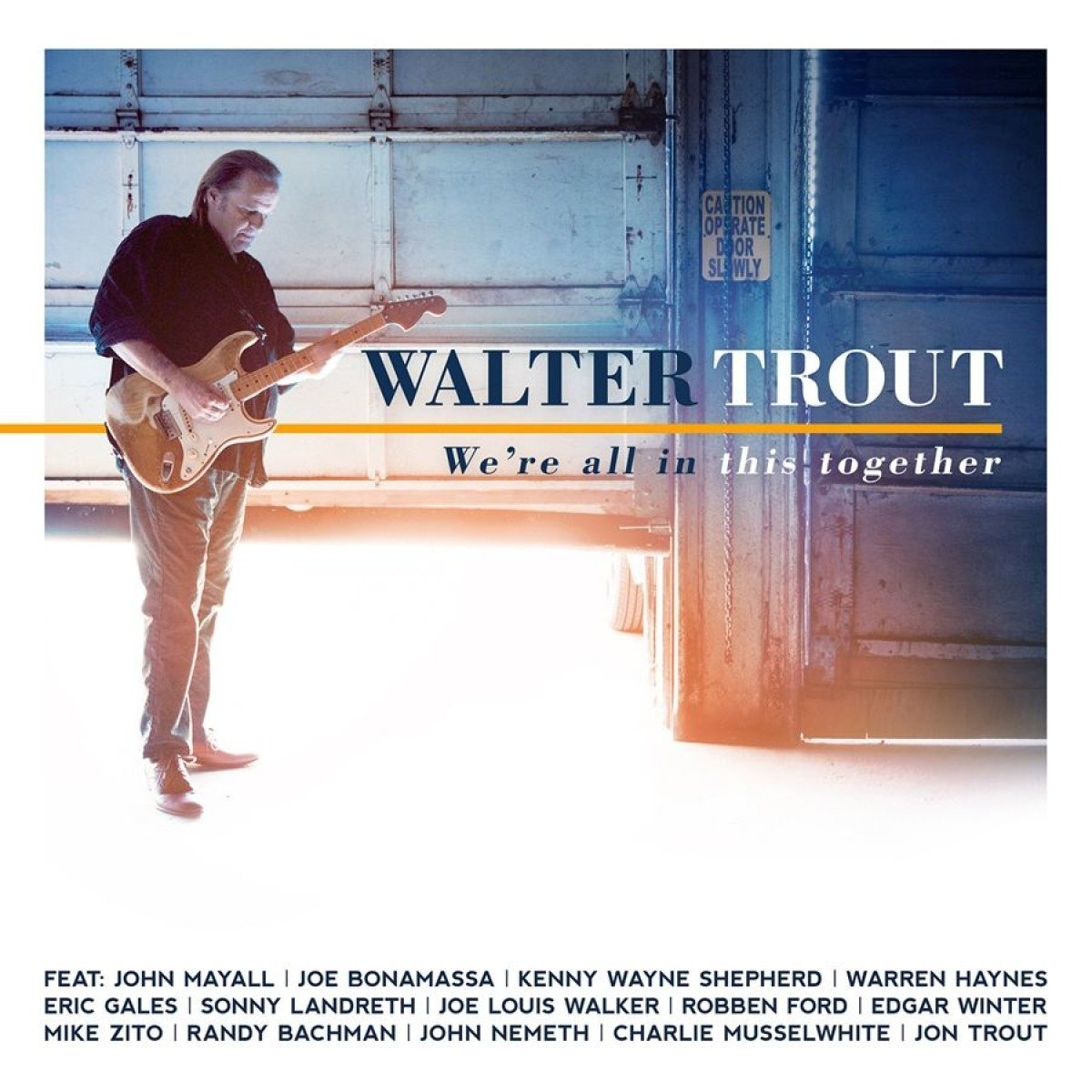 Album cover image for Walter Trout We're All In This Together