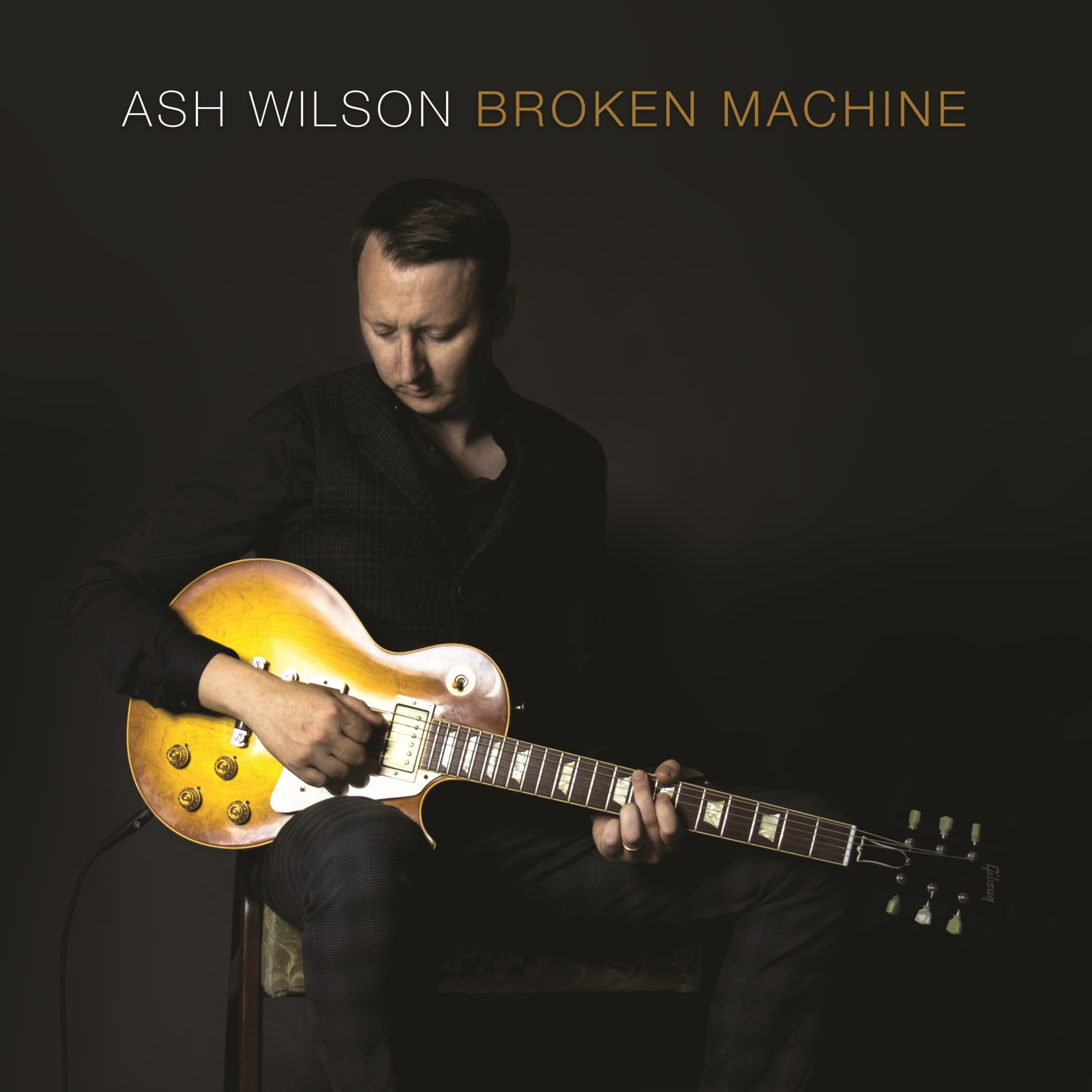 Album cover for Ash Wilson - Broken Machine