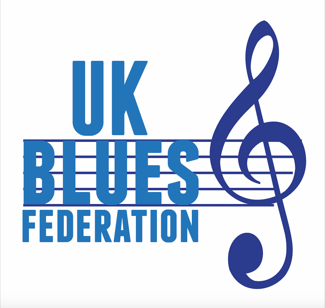 image of the logo for the UK Blues Federation