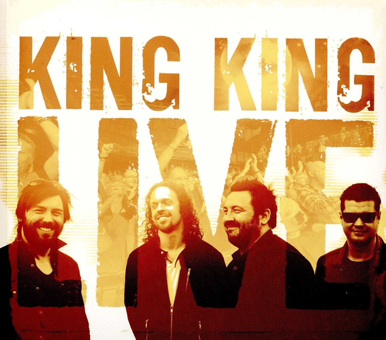 Album cover for King King Live