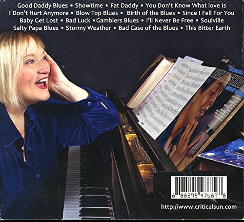 image of the back cover of the album Kathryn Hettel Cookin' in the Kitchen with Dinah