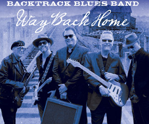 Album cover for Backtrack Blues Band - Way Back Home