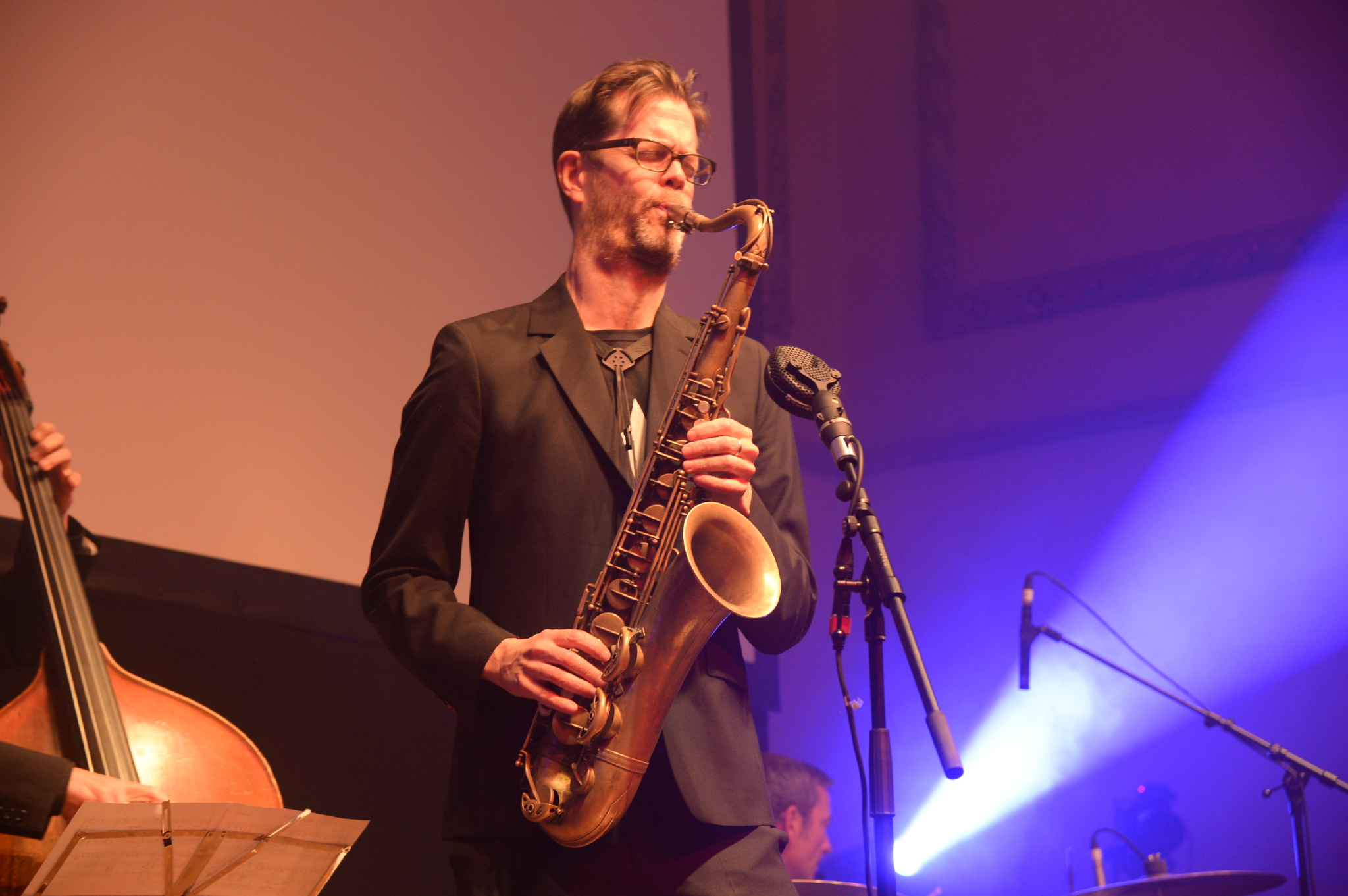 photo of Donny McCaslin by Hannah Young