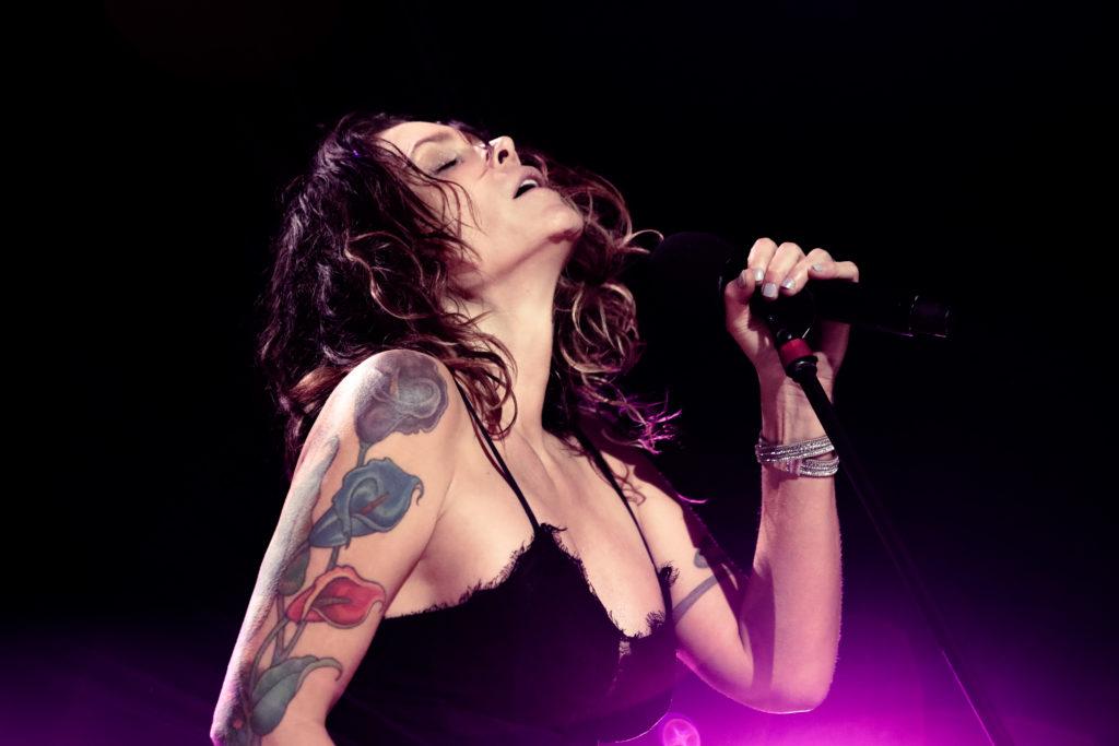 photo of Beth Hart performing live at the Royal Albert Hall, London, UK.