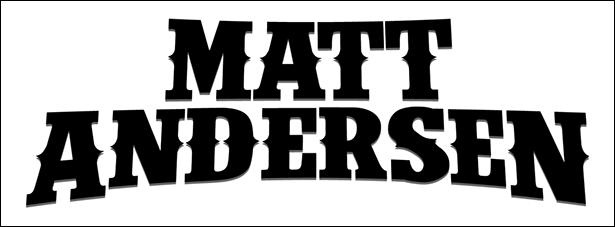 image of singer Matt Andersen's logo