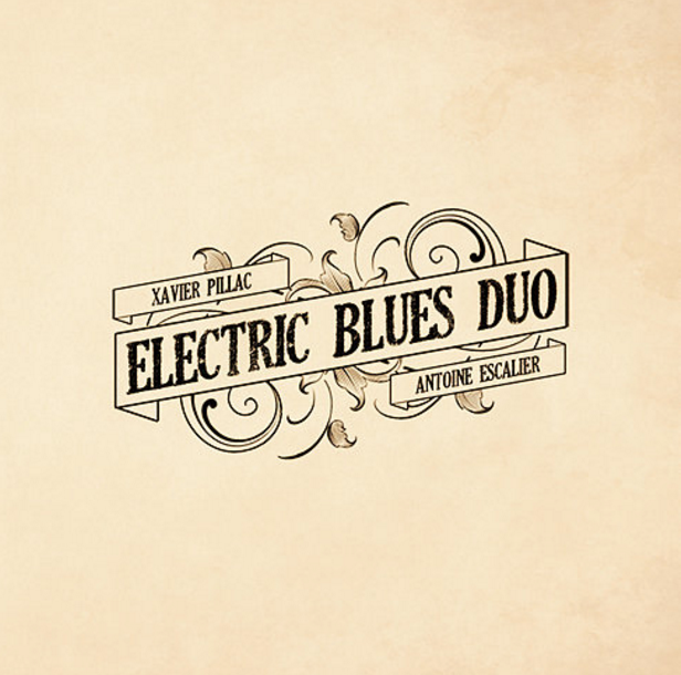 Electric Blues Duo (France) cd cover image