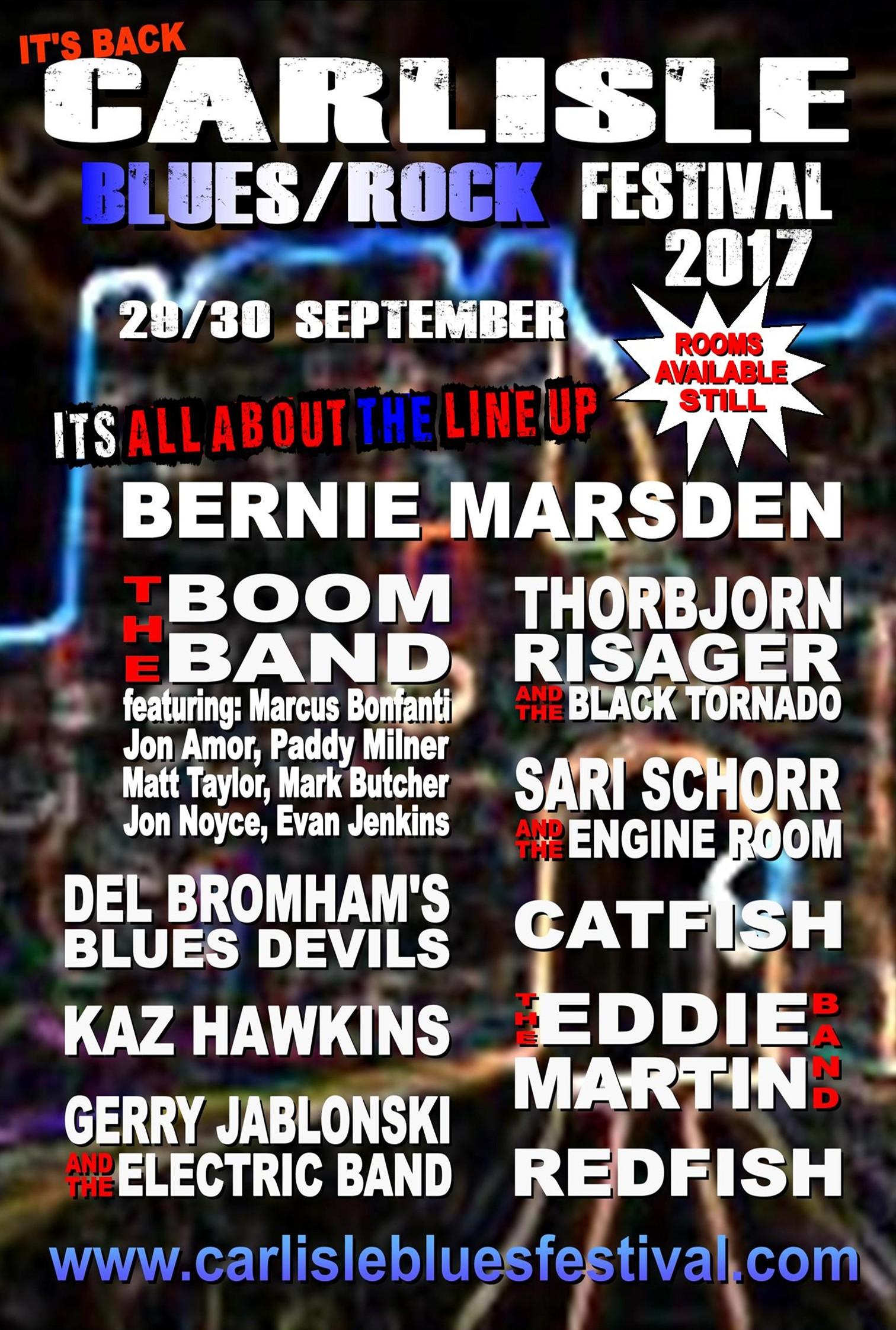 Carlisle Blues/Rock Festival 2017 poster image