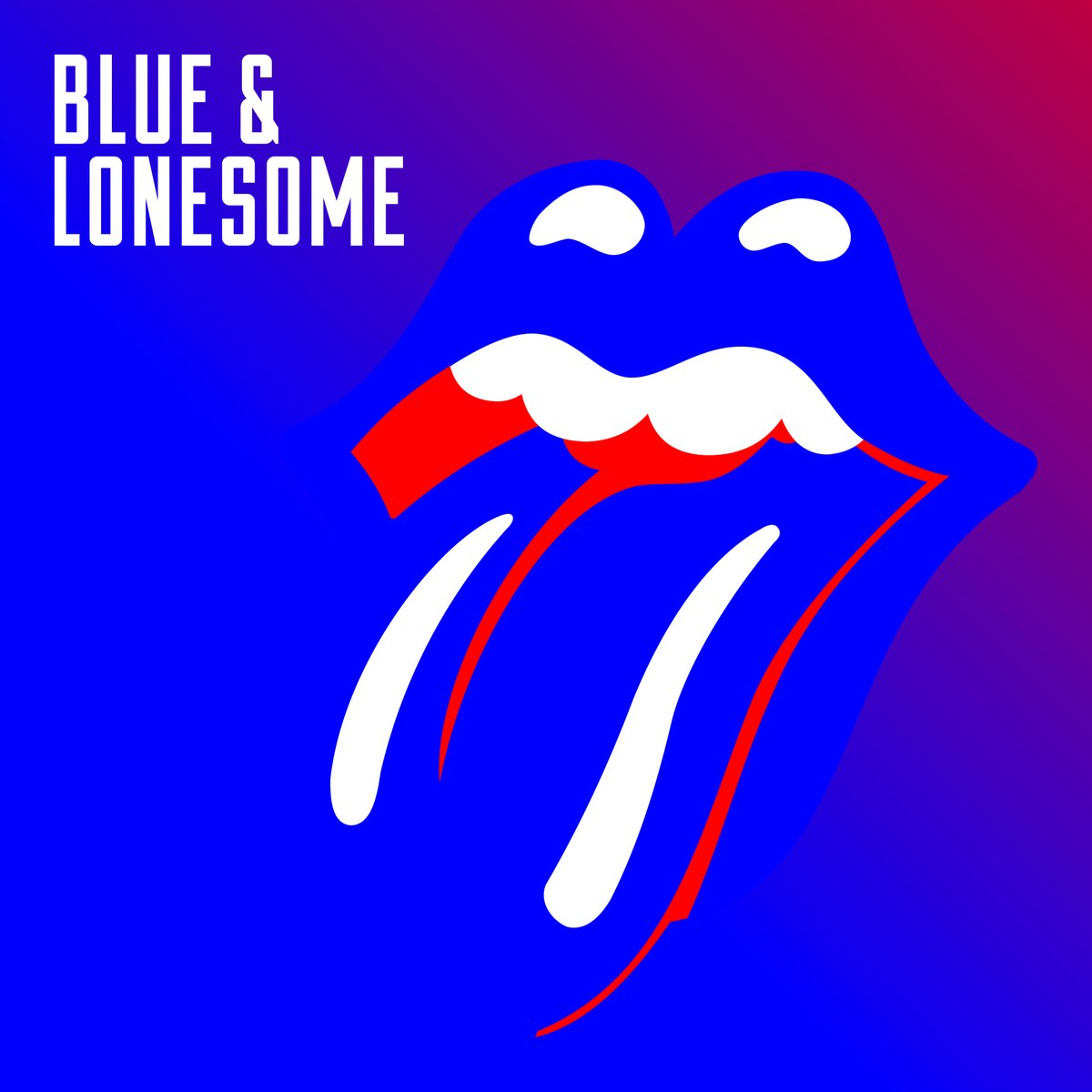image of The Rolling Stones Blue and Lonesome album cover