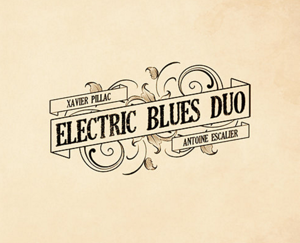 ELECTRIC BLUES DUO  self-titled debut EP review