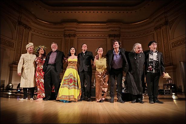 Joe Bonamassa Live at Carnegie Hall - Full Band - photo by Christie Goodwin