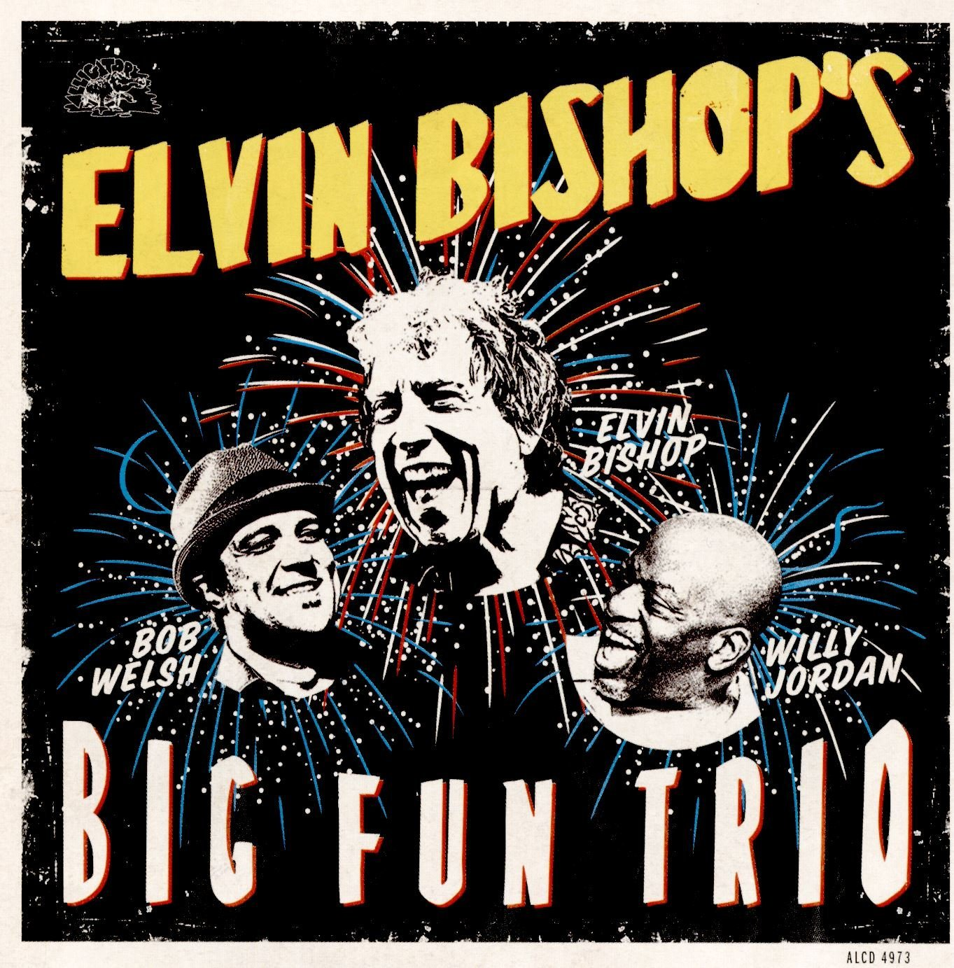 album cover for Elvin Bishop's Big Fun Trio