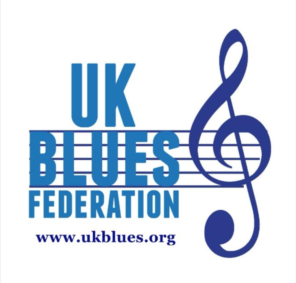 Image of the UK BLUES FEDERATION LOGO