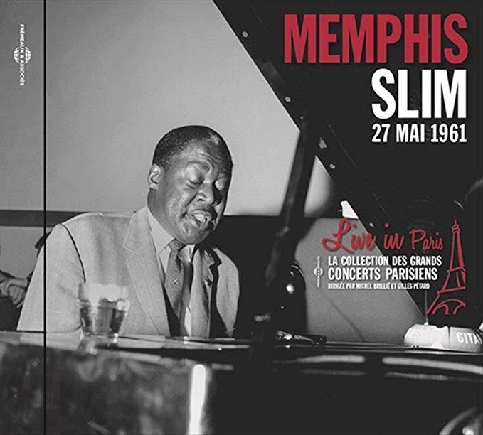 MEMPHIS SLIM Live In Paris 27th May 1961