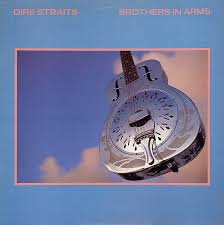 image of album cover for dire straits brothers in arms album