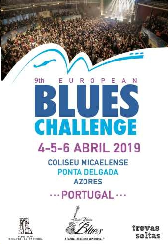 image of poster for the 9th European Blues Challenge 2019