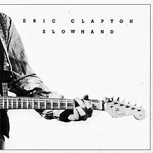 image of album cover for eric clapton slowhand