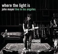 album cover for john mayer where the light is