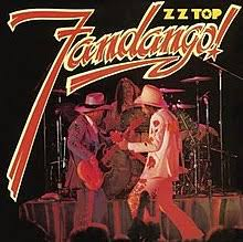 image cover for zz tops fandango album