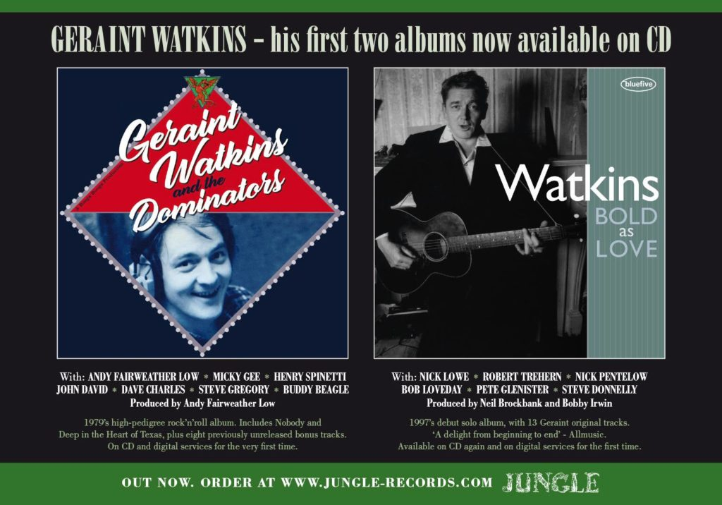 image of Geraint Watkins album covers