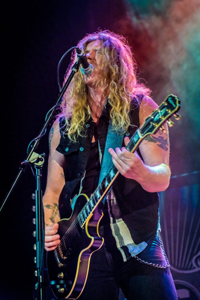 image of Jared James Nichols playing guitar on stage