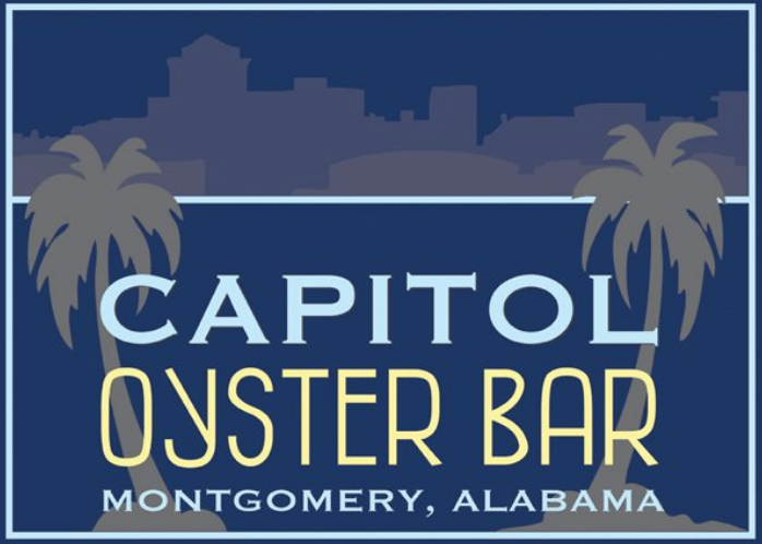 image of logo banner for capitol oyster bar, alabama