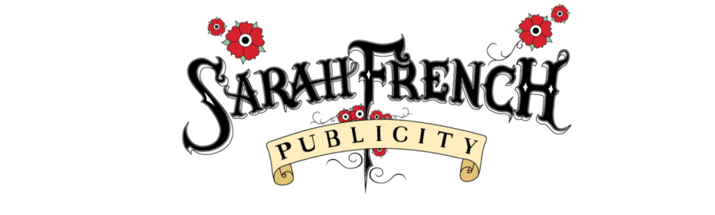 image of banner logo for sarah french publicist