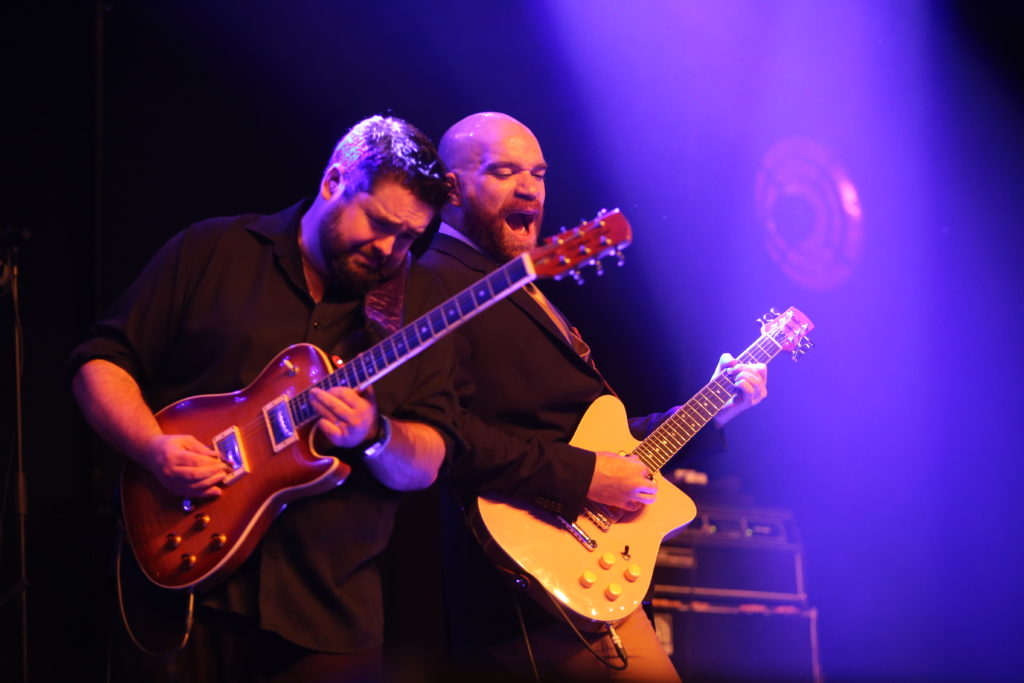 image Mike Ledbetter & Mike Welch by Jennifer Noble at Blues Heaven Festival, Denmark
