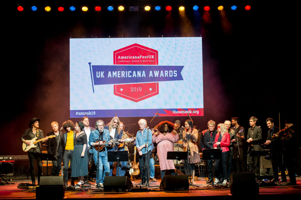 image of UK americana awards ceremony 2019