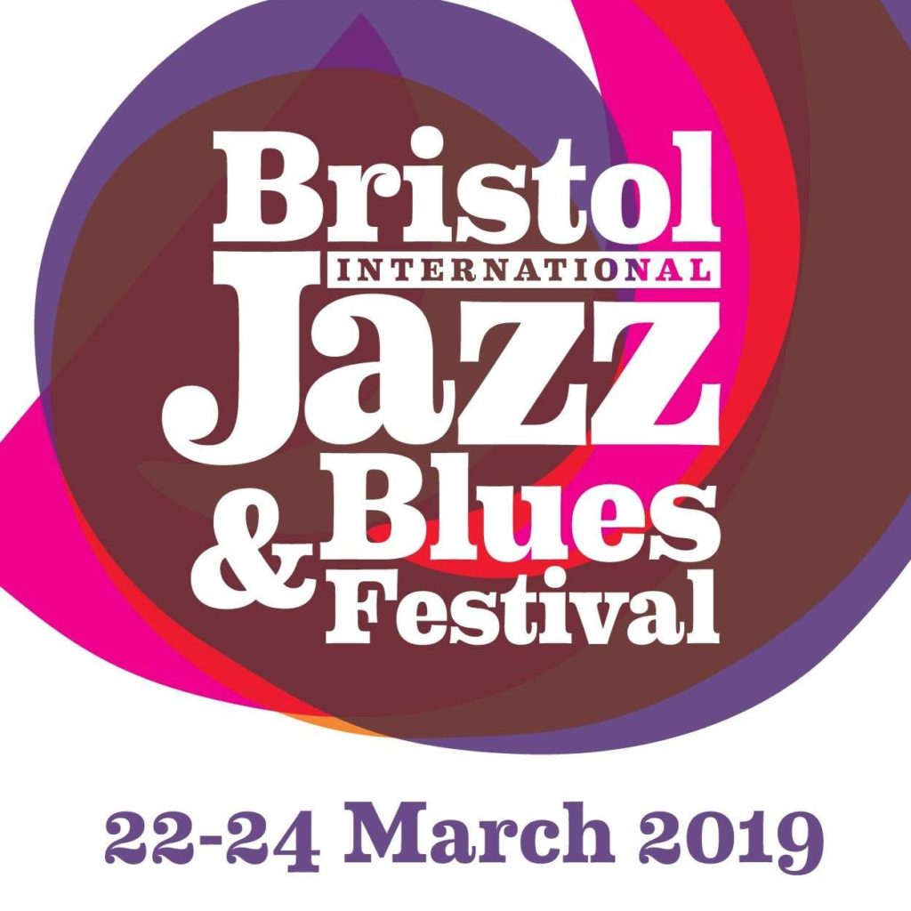 image of logo for bristol jazz and blues festival 2019