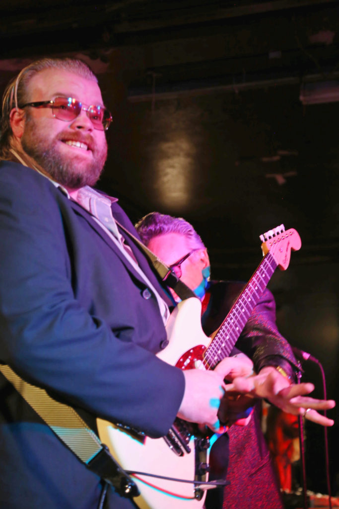 Rick Estrin & The Nightcats by Jennifer Noble at the 100 Club, London, January 2019