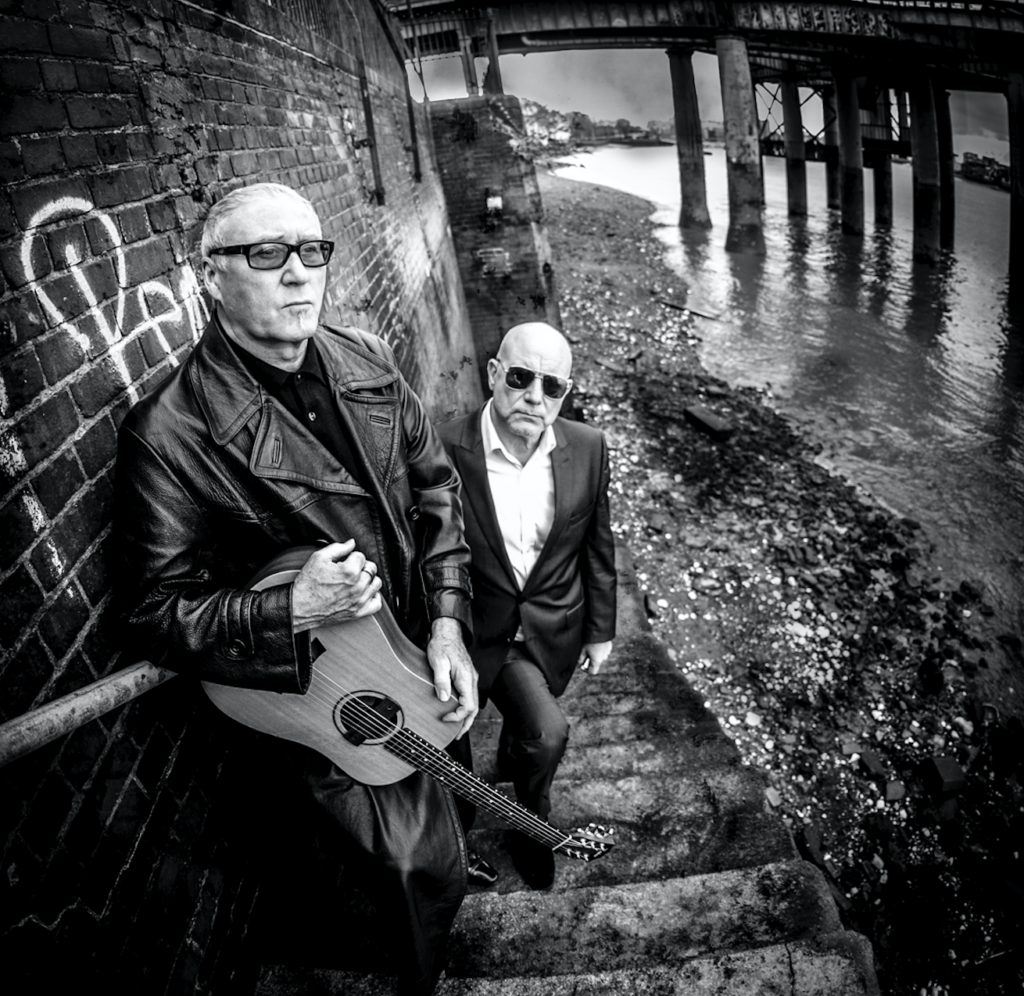 Mark Feltham & Denis Greaves acoustic blues duo promo picture