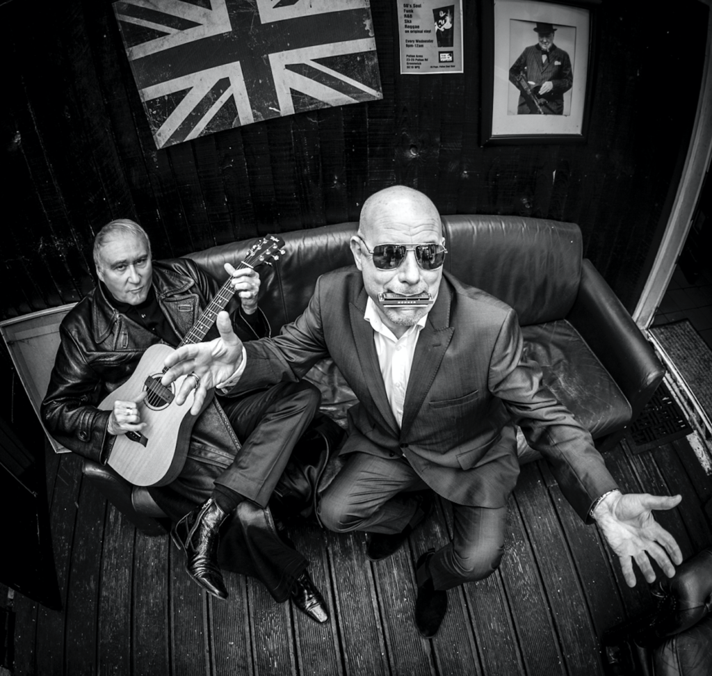 Mark Feltham & Denis Greaves acoustic duo promo picture