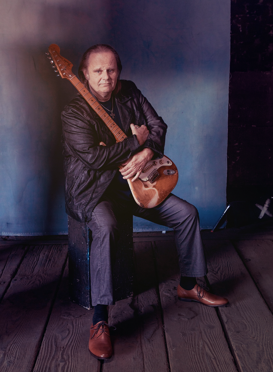 image of blues artist Walter Trout