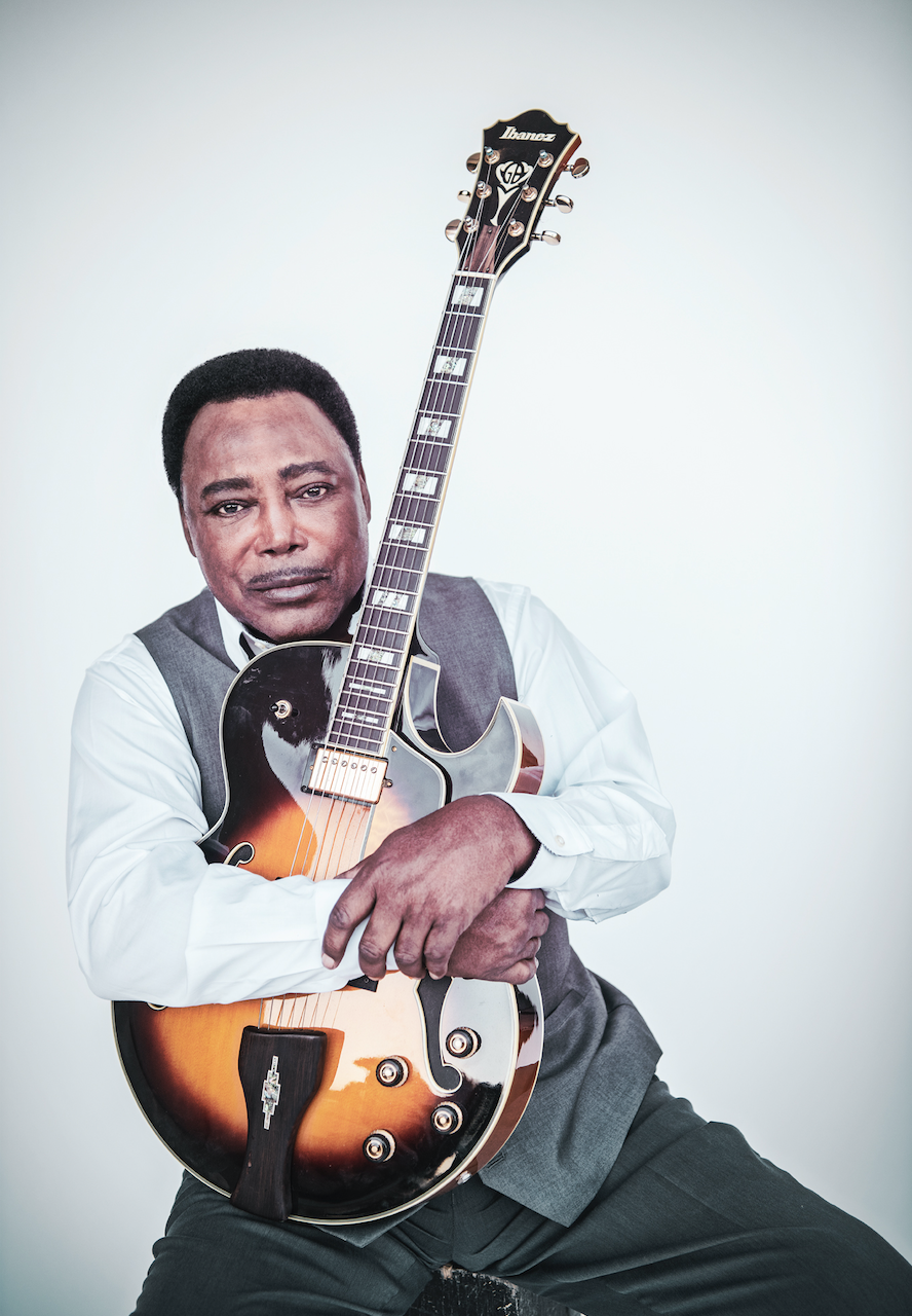 image of George Benson jazz guitarist